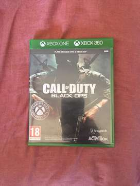 Call of duty black ops xbox 360 and one