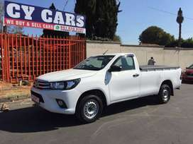 2018 Toyota Hilux 2.4 GD Chassis Cab A/C