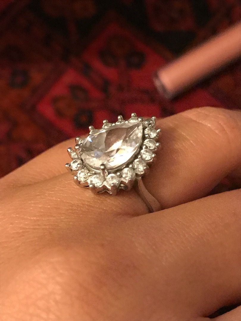 Striborny prsten 0