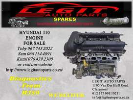 HYUNDAI I10 ENGINE FOR SALE