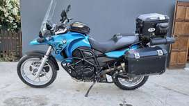 BMW F650GS twin - fully loaded