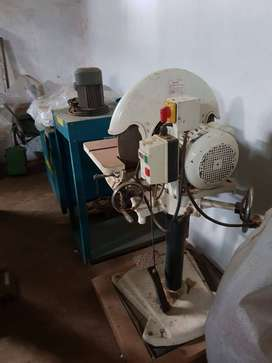 Large industrial disc sander