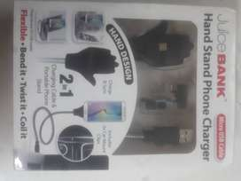 Handstand phone charger