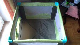 Łóżeczko turystyczne kojec dla dziecka materac + torba + duży 100cm