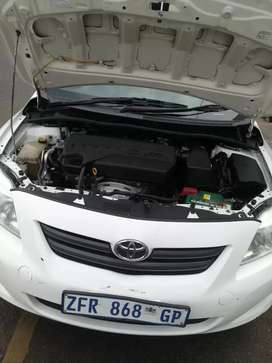 Toyota corolla just kick and go no problem of the car