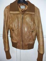 куртка кожаная - косуха, пиджак, размер 32 - 34, XS -S