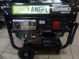 Генератор трьохфазний IRON ANGEL EG5500E3(5,2-5,5кВт)ручний+електрост.