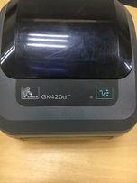 Продам принтер, термопринтер, принтер этикеток Zebra GK 420d