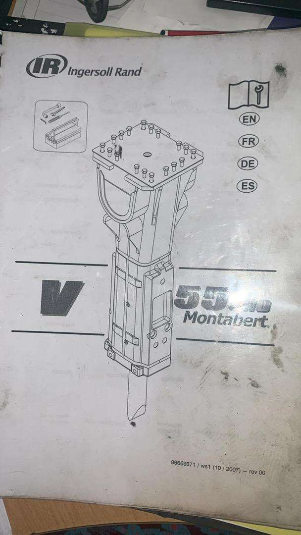 V55 Montabert Hydraulic hammer for sale