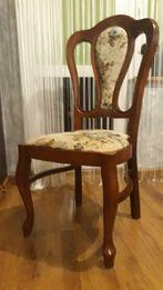 Krzesło noga ludwik czereśnia antyczna do toaletki