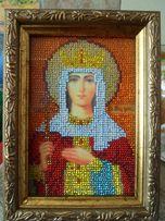 икона (картина) бисером Свмч ИРИНА 750 р НЕ ПЕРЕСЫЛАЮ