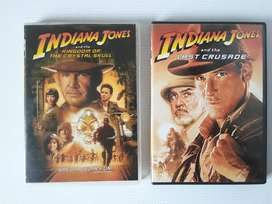 Indiana Jones. Movie DVD. Two Movies to choose from. See picture.