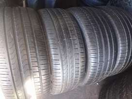 SUV set of tyres sizes 275/40/21 pirelli normal now available