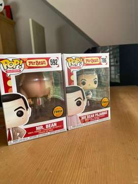 Funko Pop Mr Bean chase collection