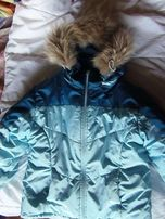 Зимняя куртка на девочку или мальчика на 4-6 лет.