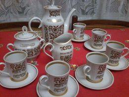 Редкий кофейный сервиз Синельниковского завода, знак качества!