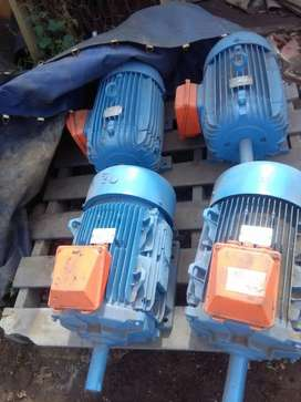 Electrical motors and gearboxes and pumps