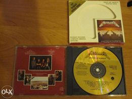 Metallica - Master of Puppets - DCC 24KT Gold CD