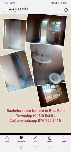 Room to rent in Bela Bela