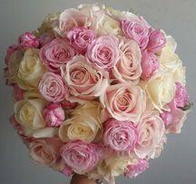 Свадебный букет невесты флористика