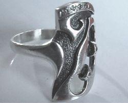 Серебряное кольцо р.18-18.5