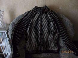 Мужской свитер-кофта на молнии
