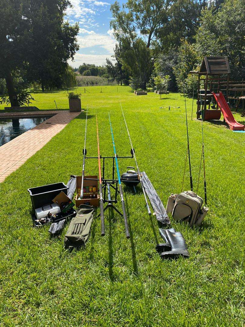 Fishing Rods and Gear 0