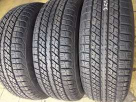 4×255/70/15 GOODYEAR tyres for sale