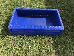 Skrzynka plastikowa Pojemnik Skrzynia Transporter Kontener na ryby