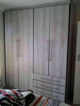 Wall fitted wardrobes nd kitchen units