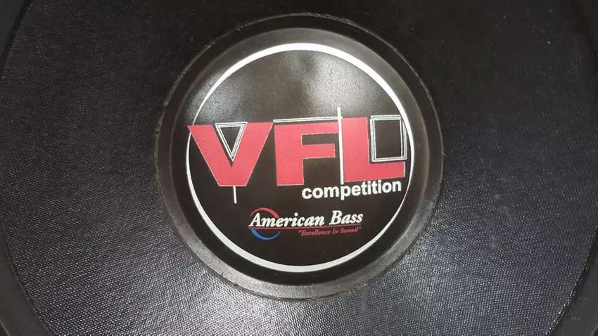 AMERICAN BASS VFL SUBWOOFER FOR SALE 0