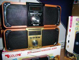 Bluetooth Бумбокс GOLON с МР3 /USB/SD/AUX/FM-радио 40W