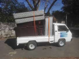 Bakkie for hire, transport, collect and deliver, furniture any mini