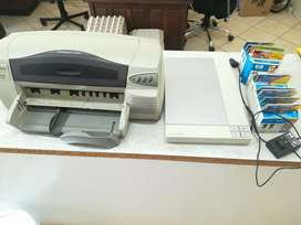 Printer, scanner and ink