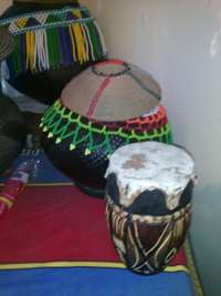 Image of Traditional Zulu items