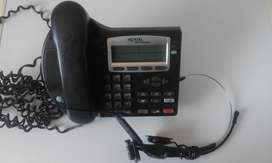 Nortel Networks VoIP Phone for making calls over the Internet.