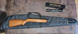 SNIPER AFRILEC AIR RIFLE WITH TELESCOPE