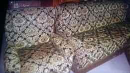 Набор мебели (диван 4-ех местный, два кресла, пуфик). Пр -во Германия