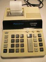 Калькулятор с печатью CITIZEN CX-122S