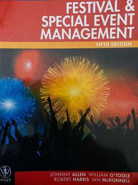 Festival and special event management 5th edition