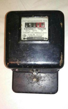 Счётчик электроэнергии, ретро 127В
