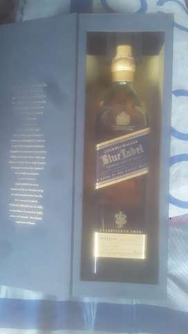 John Walker Blue Label, Glenfliddich 21yrs