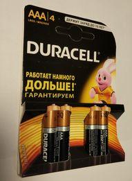 Батарейки Duracell AAA АА