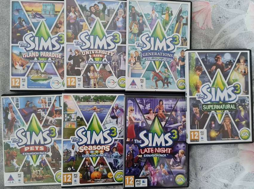 PC Games Sims-3 expansion packs