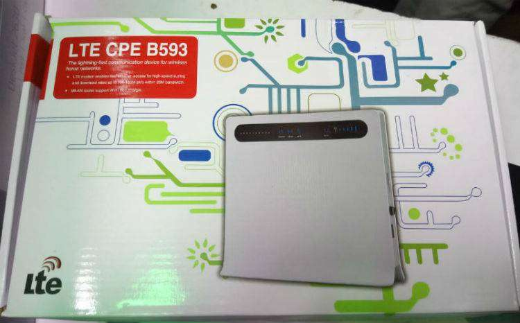 Huawei b593 b593 LTE MHz 2600 MHz 4 g CPE router 0