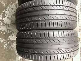 2 × 225 / 40 / 18 runflat continental tyres for sale