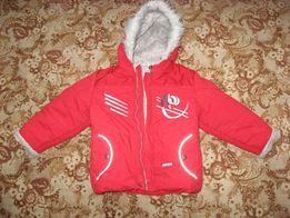 Зимняя куртка Lenne 98 супер теплая !