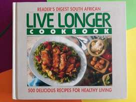 Live Longer Cookbook - Readers Digest South African.