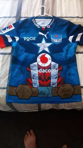 Signed Bulls Superugby Jersey 2020