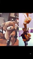 Рюкзак-игрушка плюшевый мишка рюкзак для девочки новый